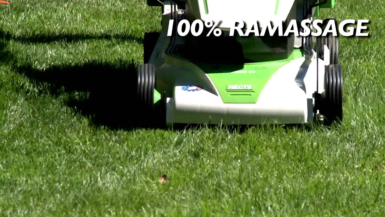 etesia tondeuse lectrique tract e duocut 41 nects youtube