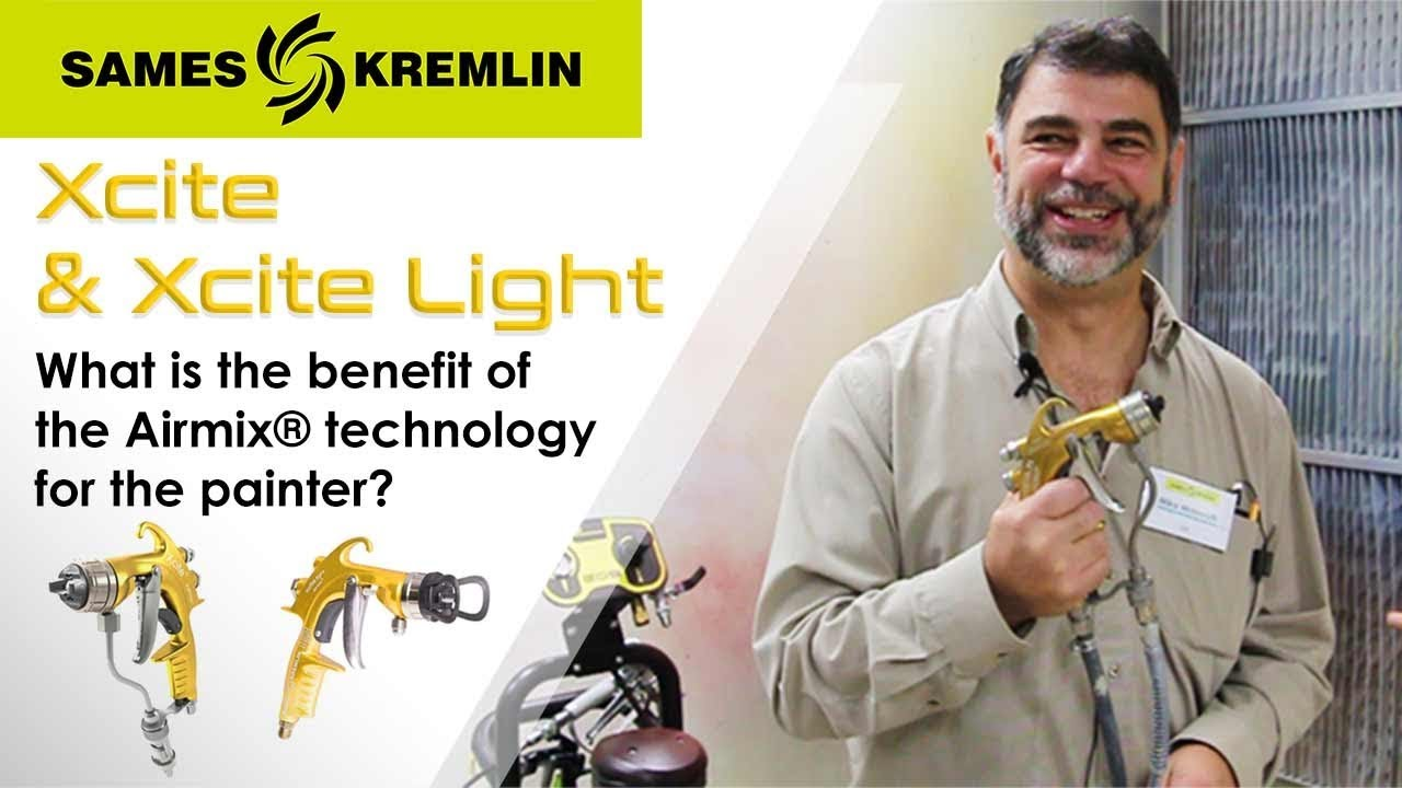 SAMES KREMLIN | Xcite™ Airmix® Manual Spray Gun