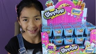 Shopkins Blind Baskets- Opening A Whole Box Of  Shopkins-mystery Toys|b2cutecupcakes