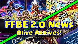 Final Fantasy Brave Exvius - FFBE 2.0 News! Olive Arrives!