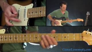 Hungry Like The Wolf Guitar Lesson - Duran Duran