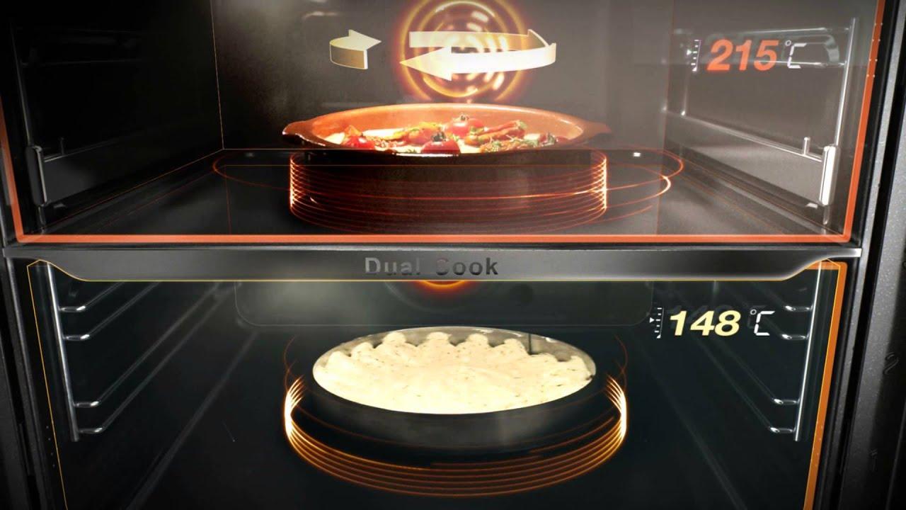 piekarnik samsung dual cook piecz szybciej efektywniej i efektowniej youtube. Black Bedroom Furniture Sets. Home Design Ideas