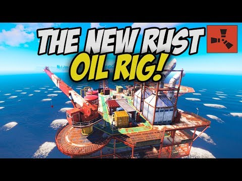 LOOTING the NEW OIL RIG MONUMENT! - Rust thumbnail