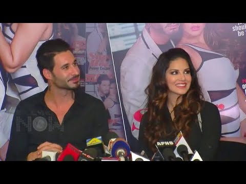 Daniel Weber singing a romantic song for Sunny Leone