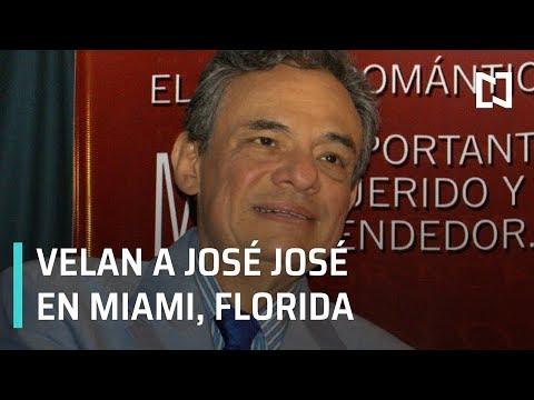 Velan a José José en funeraria de Miami, Florida - Por las Mañanas