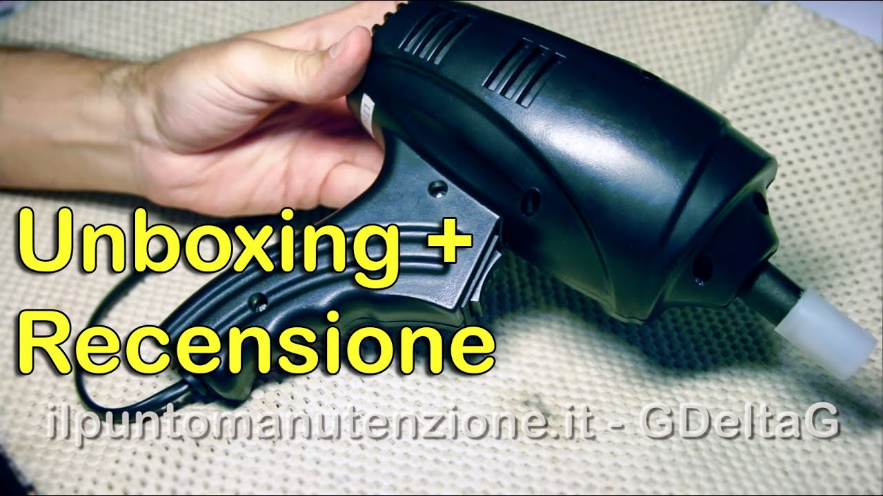 Pistola elettrica impact wrench recensione unboxing for Parkside pistola sparapunti elettrica