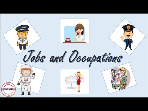 Jobs And Occupations, English Language Video Lessons