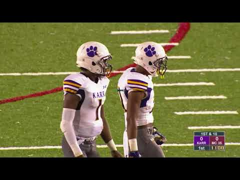 Game Replay:  Edna Karr vs. McDonogh 35  (Louisiana)