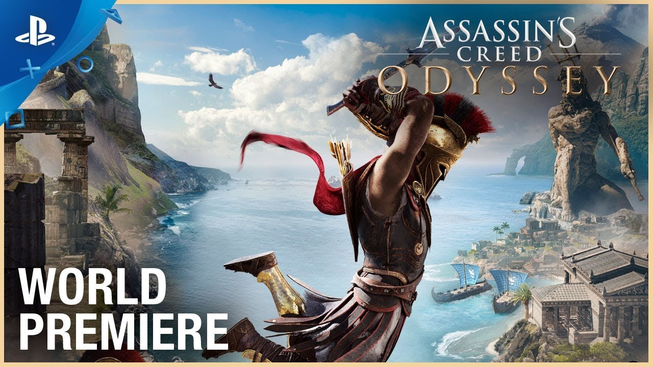Assassin S Creed Odyssey E3 2018 World Premiere Trailer Ps4
