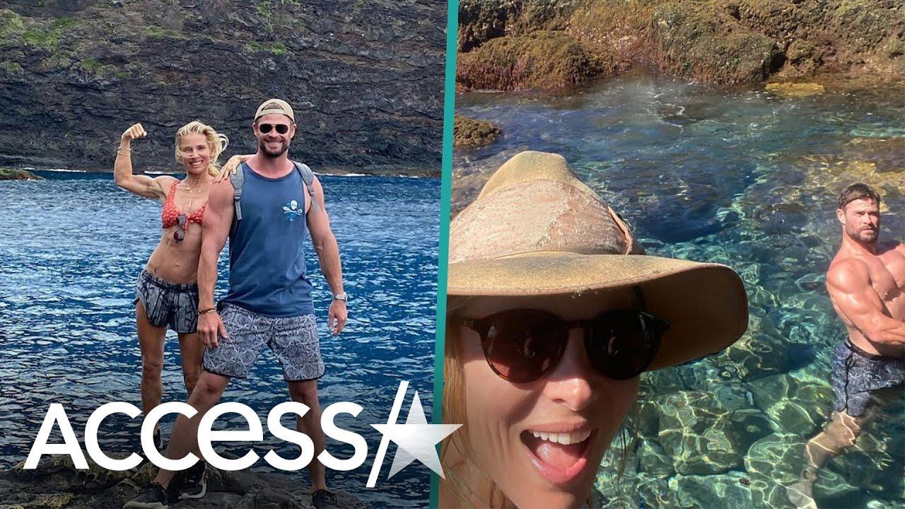 Chris Hemsworth Trolls Himself In Hilarious Vacation Snap