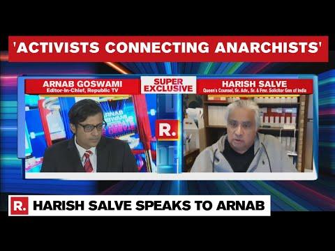 Harish Salve's Straight Talk On Anti-India Plot, Toolkit & Farmer Protests