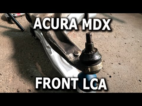 Acura MDX Front Left Lower Control Arm replacement DIY