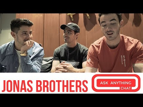 Most Requested Live with Romeo - #MostRequestedLive Ask Anything Chat: Jonas Brothers