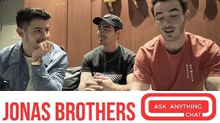 "Jonas Brothers Talk Frankie ""Bonus"" Jonas & Happiness Begins"