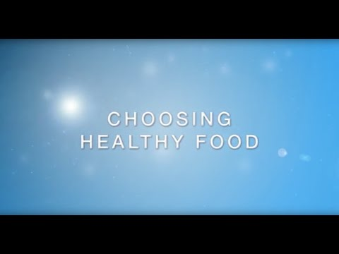 Choosing Healthy Food