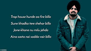 Badfella (Lyrics) - Sidhu Moosewala | Harj Nagra