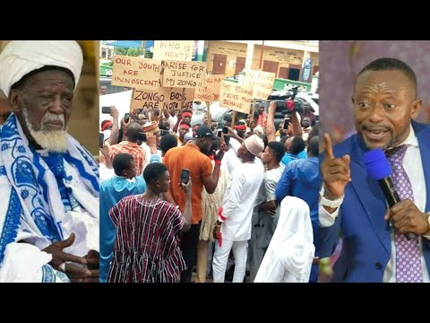 Breaking..Bishop Owusu Bempah Chased out of his Church by Muslim Youth...