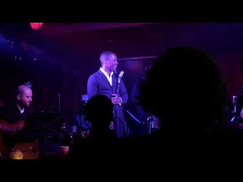 Dear Theodosia  jazz version  Leslie Odom Jr at the McKittrick Hotel