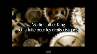 Martin Luther King et la lutte pour les droits civiques