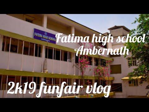 #Ambernath Fun Fair Vlog | 2k19 | Fatima High School Ambernath