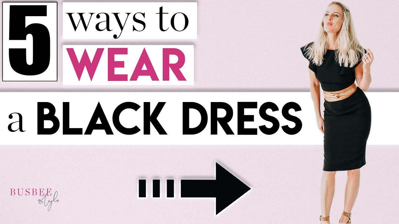 061995cfe922 5 Styling Tips to TRANSFORM Your Little Black Dress. Busbee Style