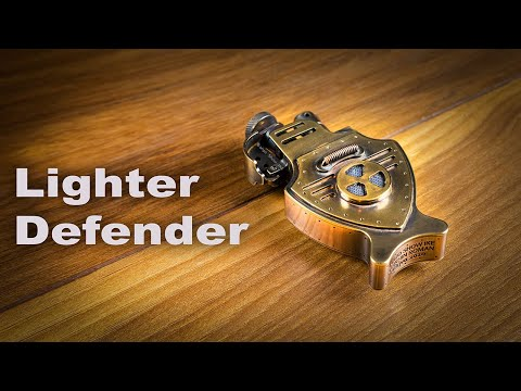 """Steampunk Lighter """"Defender"""" for One American Military Man"""