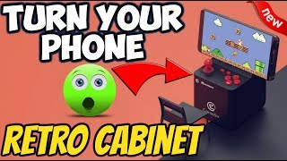🔴TURN ANY PHONE IN TO A RETRO ARCADE CABINET - GAMESIR MARSBACK 2019