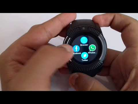 AMAZING!!!! Smart Watch With Facebook, What'sApp, Twitter And Browser. Only!!!! Under Rs 700.!!!!!