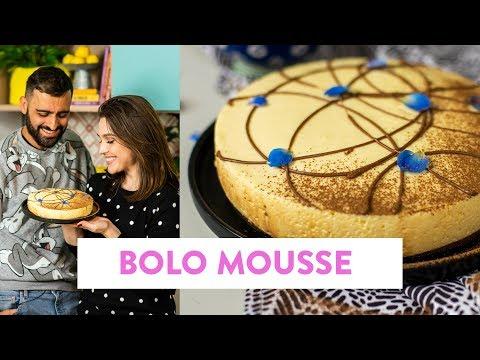 Bolo Mousse de Maracujá com Chocolate | O Chef e a Chata