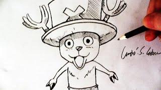 Como Desenhar o Tony T.Chopper [One Piece] - (How to Draw Chopper) - ONE PIECE #5
