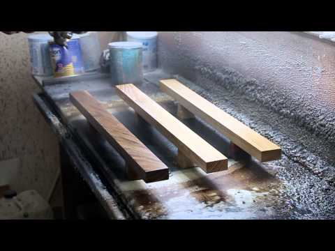 Wooden magnetic knifeholders