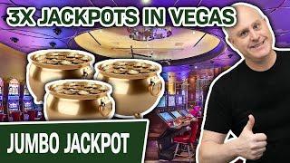 💰 💰 💰 3X JACKPOTS! 💰 💰 💰 Plaỳing VEGAS LUCK @ Cosmopolitan Las Vegas