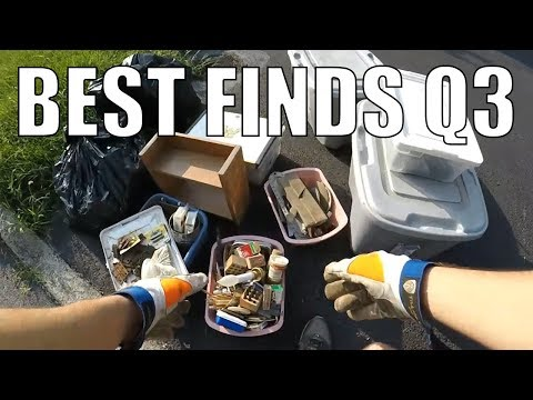 The BEST Garbage Picking And Trash Picking Finds Of 2018 Q3 - ALL Found For FREE