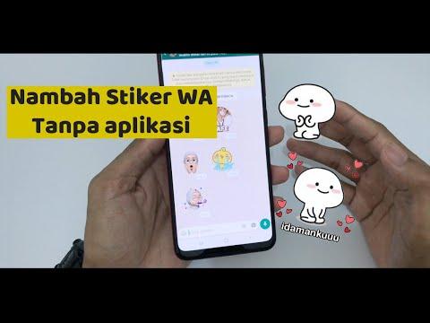 Cara Menambah Stiker WA dari Chat Teman