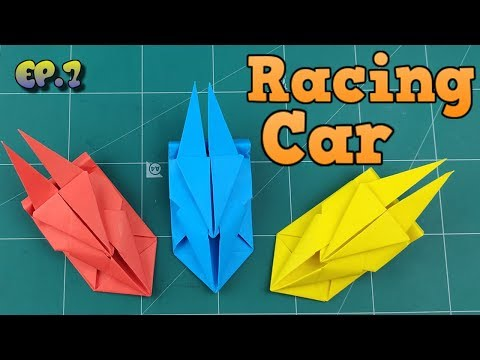 How To Make Easy Car Paper Model | Origami Car Way | DIY Paper Crafts Videos Tutorial Ep.7