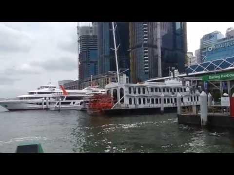 Sydney - Public Transport - Parramatta River Cat (F3) to Circular Quay 2016 01 09