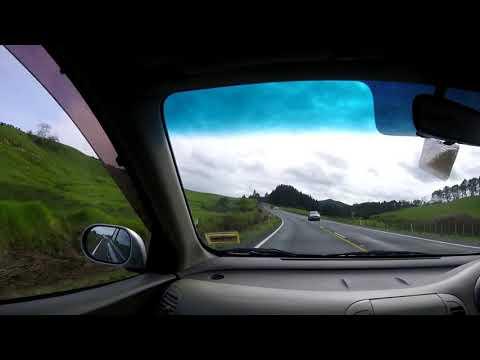 DRIVING TO CAPE REINGA NEW ZEALAND 2017