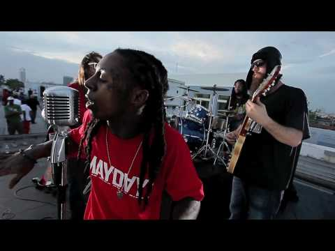 Lil Wayne Rockin out With ¡MAYDAY! Part 2 (MAYDAYONLINE.COM)
