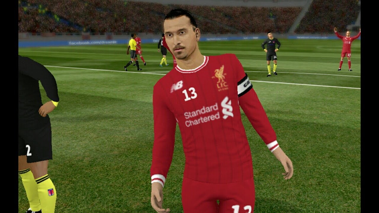 58f9dae52c9 Liverpool Kit 2017 2018 Dream League Soccer 2017 Android Gameplay ...