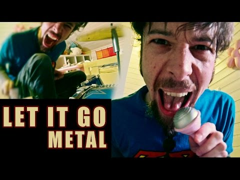 Let It Go - from Frozen (metal cover by Leo Moracchioli)