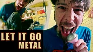 Let It Go - from Frozen (metal cover by Leo Moracchioli) thumbnail