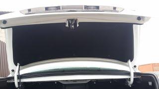 Обшивка багажника Приора