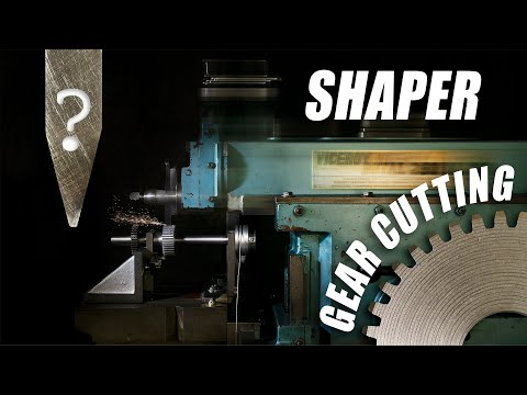 Shaper Machine - Involute Gear Cutting