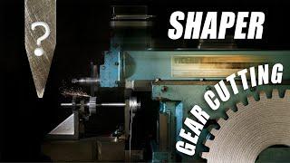 Shaper Machine - Involute Gear Cutting