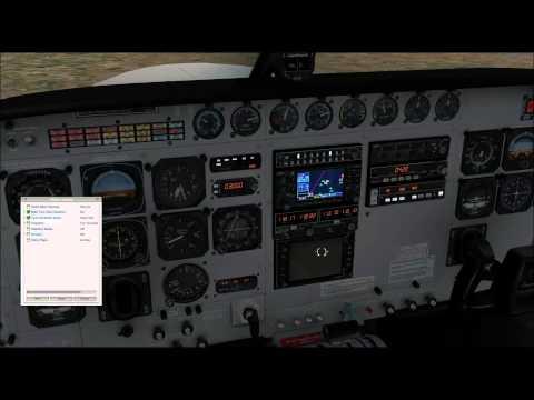 X-Plane 10 llegada y aproximación LEZL por Hinojosa en IVAO, Carenado Cessna Grand Caravan