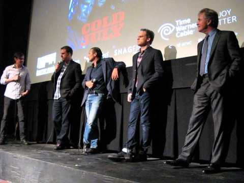 COLD IN JULY Q&A with Michael C. Hall  Don Johnson IFC CENTER May 21 2014