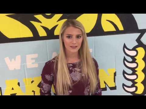 EGCC Athlete of the Week - Hannah Clunk (Oak Glen) 4-17-17