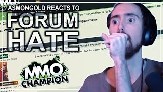 """Asmongold Reacts to the Forum Thread """"Why Asmongold Always Appear on Youtube Suggestions"""""""