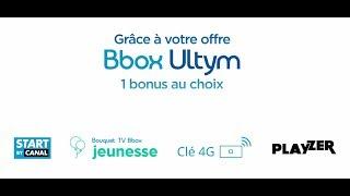 Bonus au choix avec Bbox Ultym
