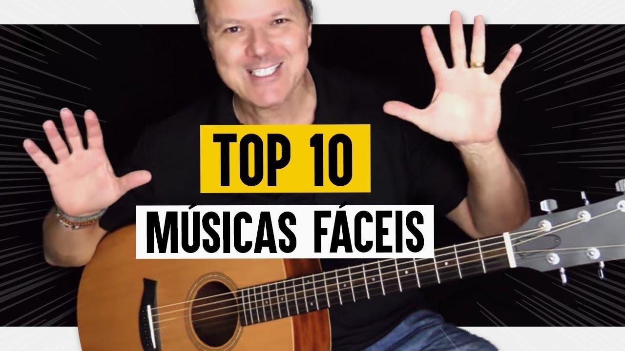 Aula de Violão: Top 10 MÚSICAS que todo iniciante deveria saber! (sem pestana)